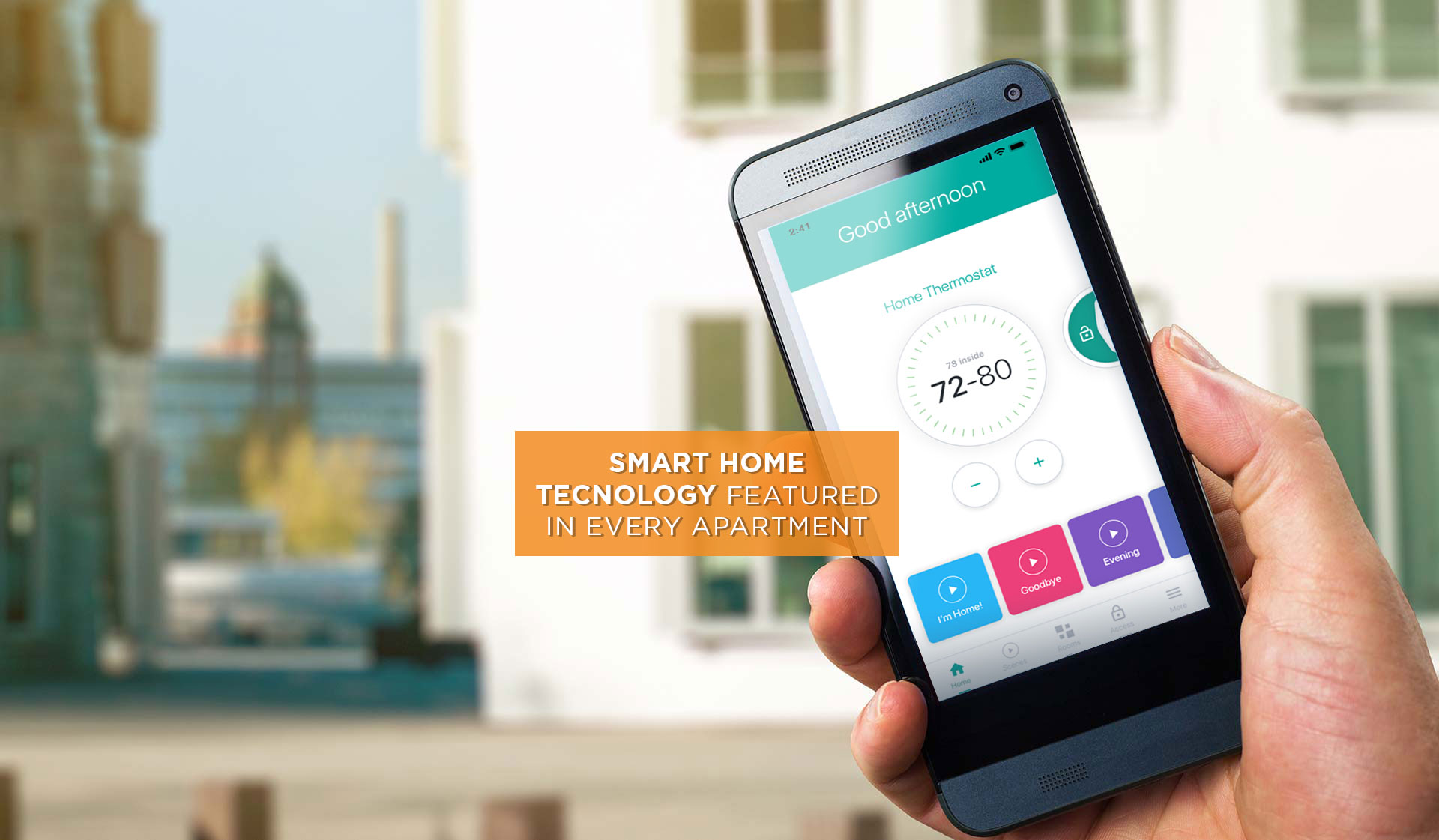 Laurel Crossing - smart home tech